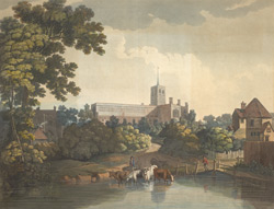 View of St Alban's Abbey